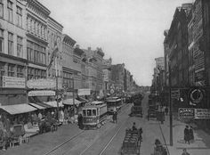 "Historic Photos of Toledo - Summit Street, 1900s. An excerpt from ""Historic Photos of Toledo"" by Gregory M. Miller"