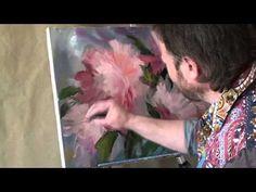 """Lección video completo """"Peonías"""" artista Igor Sajarov - YouTube"""