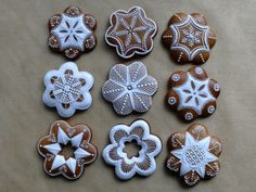 Vianočné Christmas Gingerbread, Coffee Time, Cake Decorating, Cookies, Czech Republic, Holidays, Food, Crack Crackers, Christmas Stars