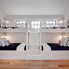 Bunk rooms. Seriously. Is there really a better room in the house???…