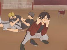 Haikyuu Manga, Haikyuu Karasuno, Haikyuu Funny, Haikyuu Fanart, Kageyama, Anime Ai, Fanarts Anime, Anime Films, Anime Characters