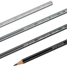 Caran d'Ache Grafwood drawing pencils represent the pinnacle of Swiss pencil design and innovation. Caran d'Ache Grafwood pencils are available individually or as part of 15 and  6-count packs. It is cheaper to buy them individually.