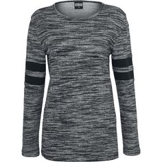 Urban Classics  Knit jumper  »Ladies Terry Melange Crew« | Buy now at EMP | More Casual wear  Knit jumpers  available online ✓ Unbeatable prices!