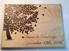 Wedding Cutting Board. Perfect for wedding gift, stag and doe, bridal shower, etc. Available through Etsy or locally through our Facebook page - CountryCuts&Company   https://www.etsy.com/listing/233568680/wedding-cutting-board  #birthday #birthdayboard #birthdaypresent #gift #woodwork #pyrography #woodburned #handmade #hangtagboard #wedding #weddinggift #engaged #engagementgift #stag #present #cuttingboard #fallwedding #springwedding #winterwedding #summerwedding