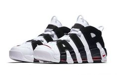 3afb6e93103 Nike Air More Uptempo White Black 414962-105 Release Date. The Nike Air More