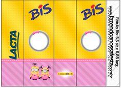 Rótulo Bis Minions para Meninas
