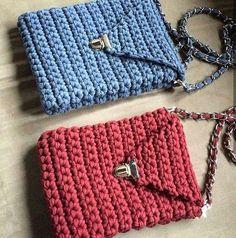 Локаничные и красивые сумочки от @__marihka__ тоже хочу себе такую #псков #сумка ##knitting #handmade #трикотажнаяпряжа #тпряжа