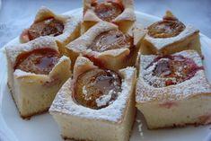 Vaníliás szilvás kocka – nagyon fincsi sütemény és gyorsan el is készül! Ízletes és dekoratív :)
