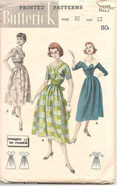 Butterick 8117: how pretty!