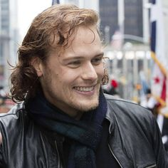 addie-ana: myaccueill: scatterations: macangel56: Grand Marshal Sam Heughan at…