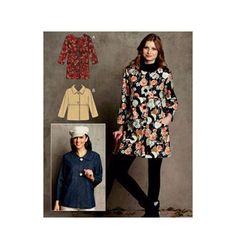 #fallintofashion14 #mccallpatterncompany   This is the pattern I would use to make the color block jacket on my board.  Kwik Sew pattern K3732 Jackets