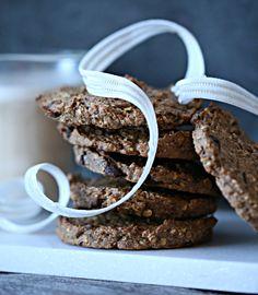 Søte og sunne pepperkake cookies med sjokoladebiter