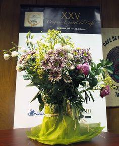 Ramo de flores a la organización del XXV Congreso Español del Café - Gracias a todos