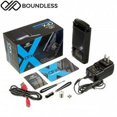 Boundless CFX 80W Portable Wax/Dry Herb/Thick Oil Vaporizer Available at Vapepensales.com #Vapepensales