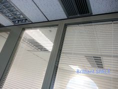 Glass System Wall 怡和大廈 (厚框雙層清玻璃屏風-內置百葉 Double Clear Glass Panel with blind) 8