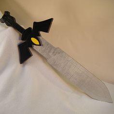 Legend of Zelda - Dark Link's Master Sword. Cosplay sized. Please visit www.alltru2u.com for pricing and purchase.