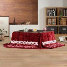 New Flat Mollis Eco KOTATSU Table Heater 75x75cm FUTON Blanket Nordic Set  Japan