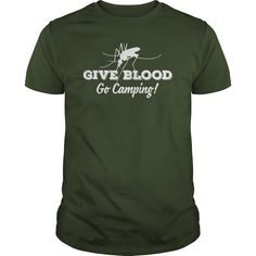 Give blood - go camping!