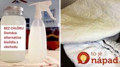 Lepšie ako z obchodu: Domáce bielidlo odstráni škvrny, vybieli záclony a vyčistí aj celý byt!