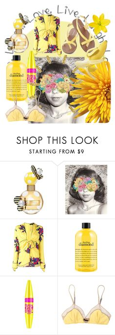 """Live. Laugh. Love."" by alongcametwiggy ❤ liked on Polyvore featuring Marc Jacobs, Monde Mosaic, Proenza Schouler, GUESS, philosophy, Maybelline and 3.1 Phillip Lim"