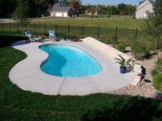 Small Inground Swimming Pool | inground pool in small backyard share tweet share inground pool