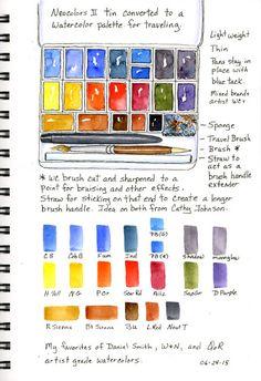 My Go To Travel Palette Susan Bronsak
