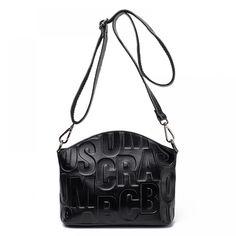 Brand Fashion Bags genuine leather bag elegant handbag Luxury Style women leather handbags bolsa feminina Many colors - Kenzi- Shop more, live better Types Of Bag, Leather Handbags, Leather Bags, Cow Leather, Fashion Bags, Fashion Outfits, Luggage Bags, Luxury Fashion, Crossbody Bag