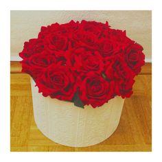 Red roses  box DIY