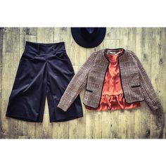 NEW MONDAY WOMAN OUTFIT FW15 ! Hats 62060 shirt 62741 Jacket 63672 trousers 63675
