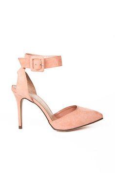 Mavis Ankle Strap Heel $32 at www.tobi.com