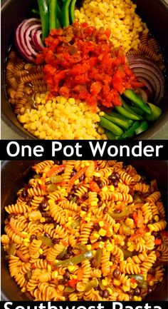 1 pot wonder southwest pasta 2