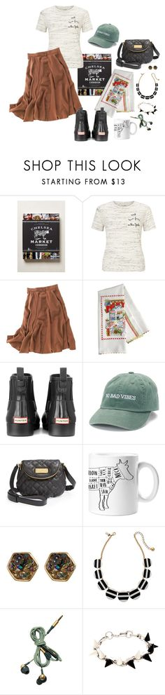 """Cookbook couture v58"" by jennifertrimble ❤ liked on Polyvore featuring Anthropologie, Miss Selfridge, Madewell, Hunter, madden NYC, Marc by Marc Jacobs, Melrose & Market, Kate Spade, Kreafunk and Joomi Lim"