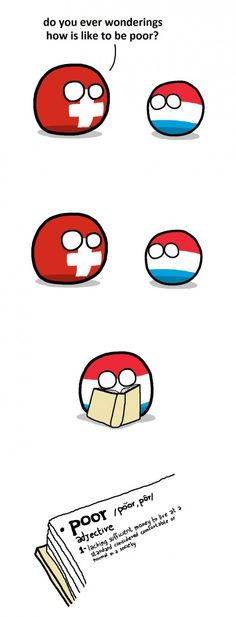 What living in Luxembourg feels like according to other europeen countries