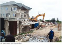 Welcome to Solenzo blog: Lagos demolishes school building, duplexes over permits