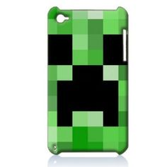 Minecraft Hard Case Cover Skin for Ipod Touch 4 4th Generation