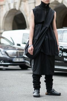 Visions of the Future: black clothing