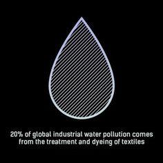 Water is life. Fashion Mode, Fast Fashion, Slow Fashion, Ethical Fashion, World Of Fashion, Sustainable Textiles, Sustainable Fashion, Sustainable Style, Sustainable Clothing