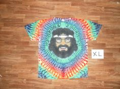 Tommy Chong in Tie Dye by TieDyeStevedotCom on Etsy, $120.00