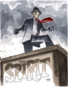 The Spirit - CA Essen 2012 Pre-Show Commission by ~MahmudAsrar on deviantART