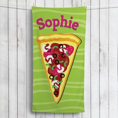 Have some personalized fun in the sun with our exclusive beach towel!