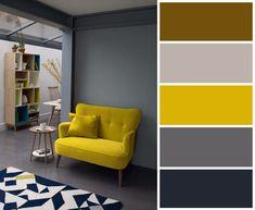 Как красиво сочетать серый цвет в интерьере.