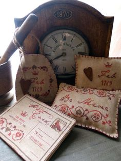 primitive valentine decor | Small Valentines - The Primitive Hare - Grilles - Primitive Hare, The ...
