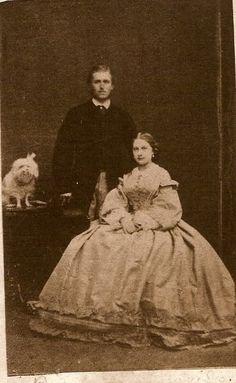 Fürst Leopold und Fürstin Antonia, née infanta de Portugal