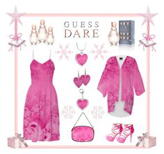Do You Dare with GUESS Dare: Contest Entry by artist4god-rose-santuci-sofranko on Polyvore featuring polyvore, fashion, style, Charlotte Russe, GUESS and DoYouDare
