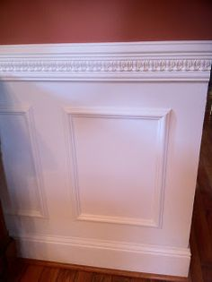 Tricks and Travails of the Left at Home Lawyer: Lesson 5. Creativity Pays: Wainscoting on the Cheap