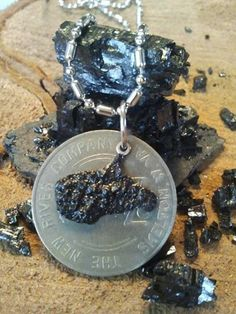 Unique COAL Jewelry - Handcrafted in Beckley, WV by  West Virginia Coal Jewelry. www.wvcoaljewelry.com