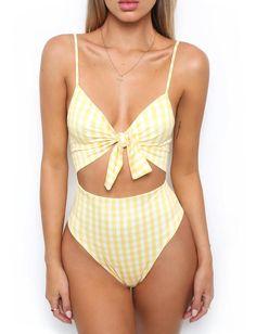 d6d16e7ff Yellowl Monokini Bodysuit for Women - Island Swimsuit  swimsuit  swimwear   pool  onepiece  beachwear  beach  beachoutfit  bodysuit