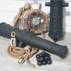 Pirate Cannon Barrels