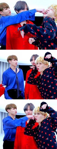 ♡ JIMIN  ||  JUNGKOOK  ||  TAEHYUNG ♡ they are normal