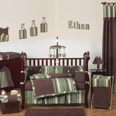 Another timeless for a little man! <3 TOO CUTE. Love Green & Brown